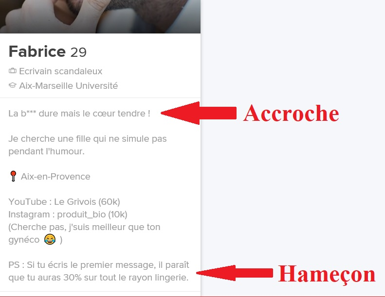 exemple de description homme site de rencontre
