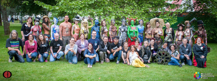 rencontre bodypainting france 2020)