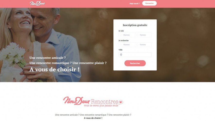 Free dating service : MoiPourToi