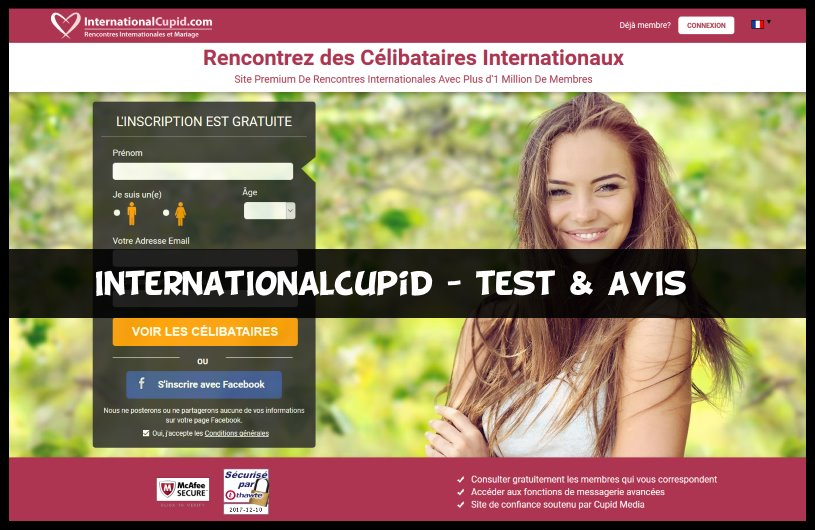 site de rencontre international cupid