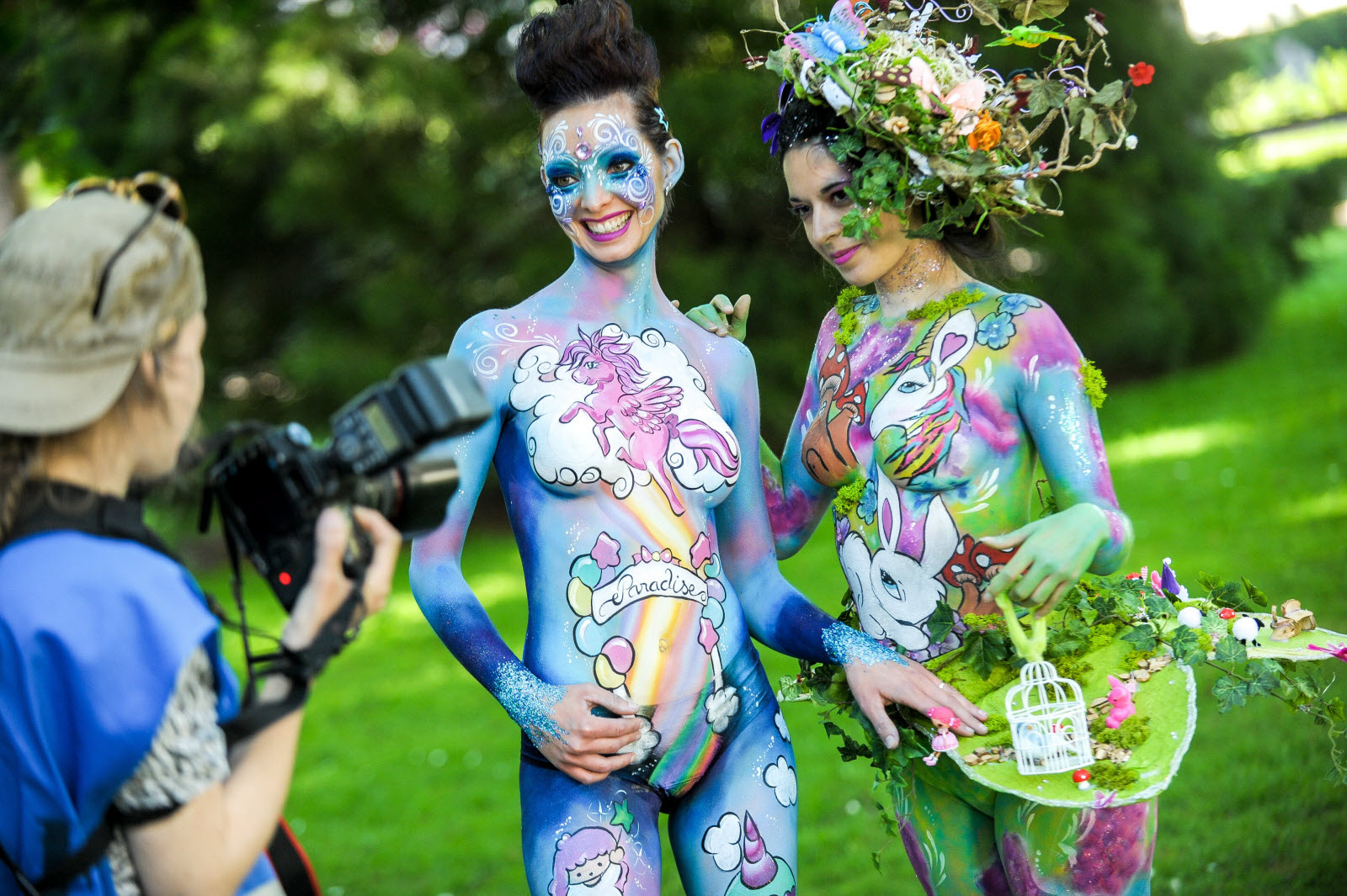 rencontre bodypainting france)