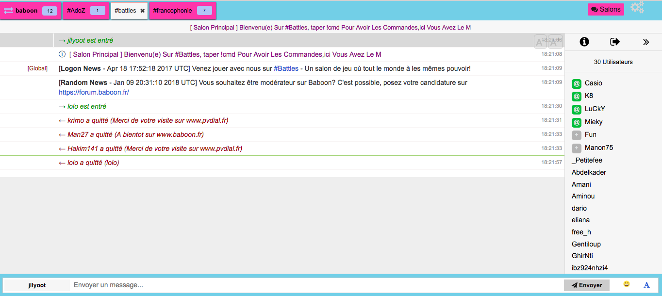 site tchat comme coco